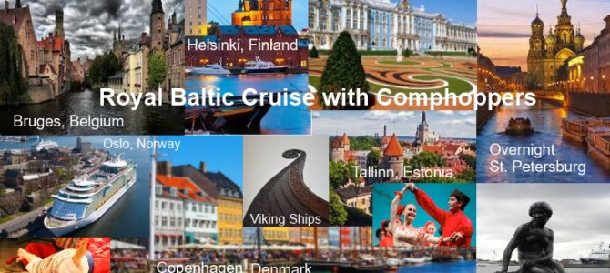 Hosted 12 Day Royal Baltic Cruise with Comphoppers
