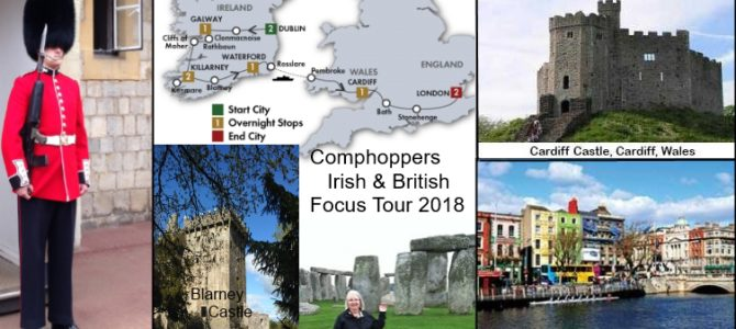 Comphoppers Irish and British Tour 2018